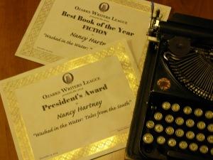 Two awards, twice as humbling, twice as electric.