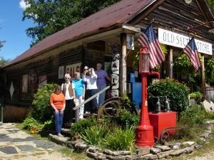 Davis crones at the Old Sautee Store, NE Georgia along the Unicoi Turnpike  est. 1872