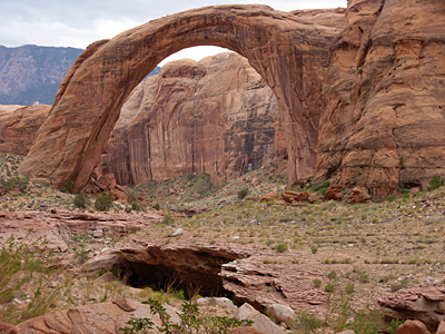 Rainbow Arch in Glen Canyon National Recreation Area, Utah, 2007